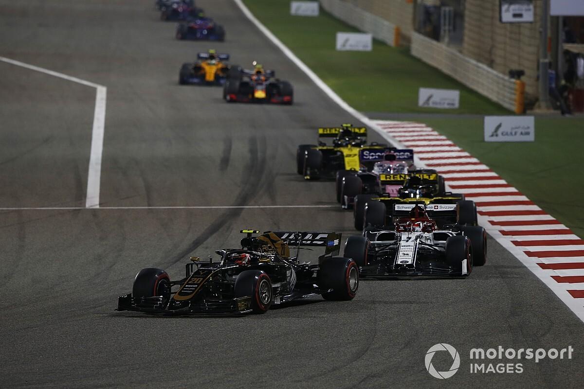 Tweede race Bahrein op korte omloop en bij kunstlicht