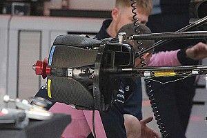 Racing Point: c'è un doppio condotto soffiante nel cestello anteriore della RP19