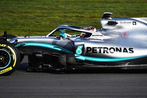 Ecco il video del primo giro di Hamilton al volante della Mercedes W10 a Silverstone