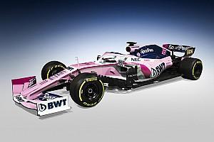 Racing Point: il blu del nuovo main sponsor SportPesa invade il rosa sulla nuova livrea