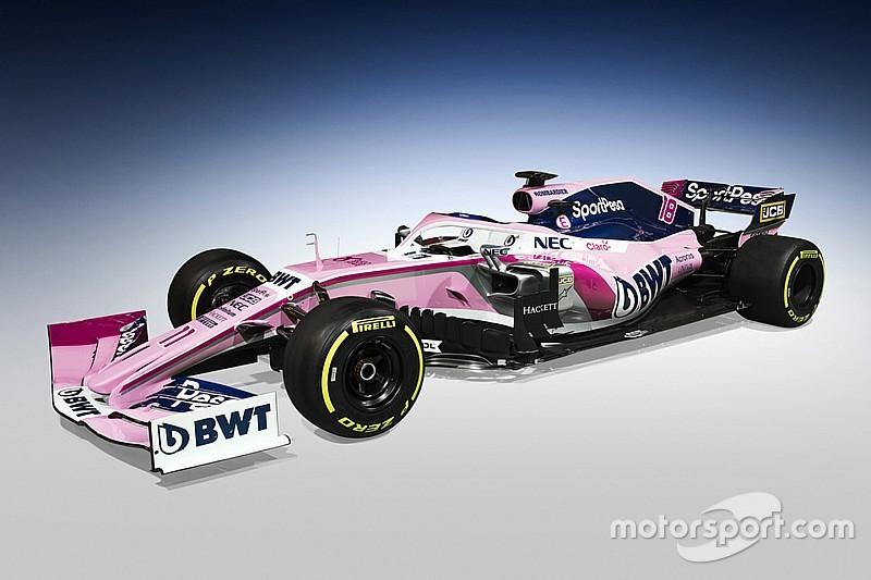 In beeld: De nieuwe Racing Point livery uit alle hoeken