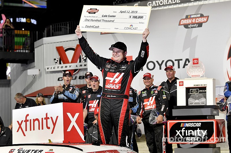 Cole Custer earns Richmond Xfinity win and $100,000 bonus