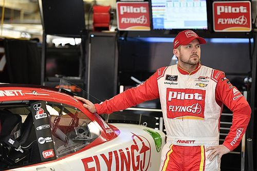 Michael Annett finally feels like a contributor at JR Motorsports