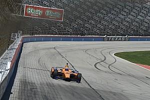 Алонсо випробував на трасі нову машину Indycar