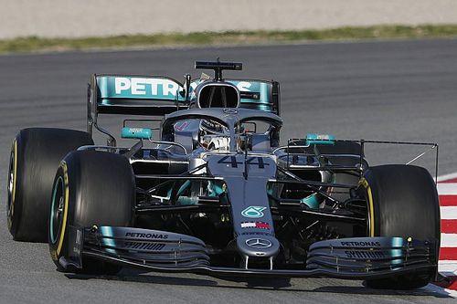 "Hamilton weinig positief over Pirelli-banden: ""Nog lastiger dan vorig jaar"""