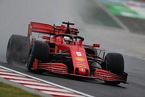 Vettel najszybszy w deszczu