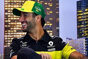 Ricciardo na domowym obozie