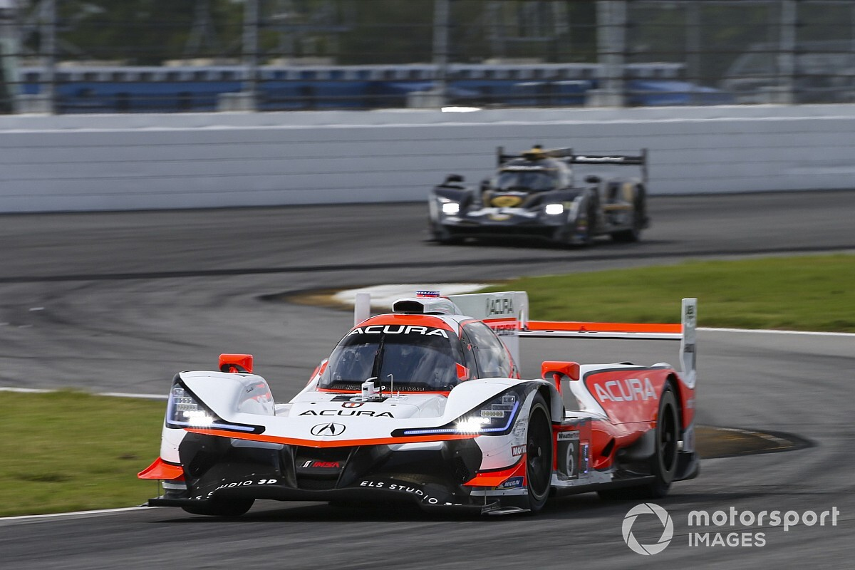 Acura, Cadillac drivers admit Mazda out of reach at Daytona