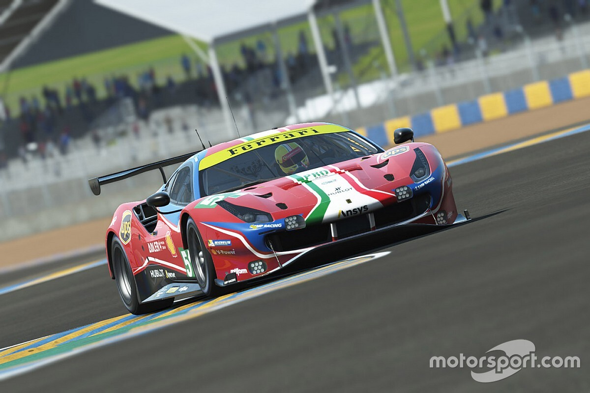 Le Mans Virtual: ¡Leclerc se come un yogur a casi 300 km/h!