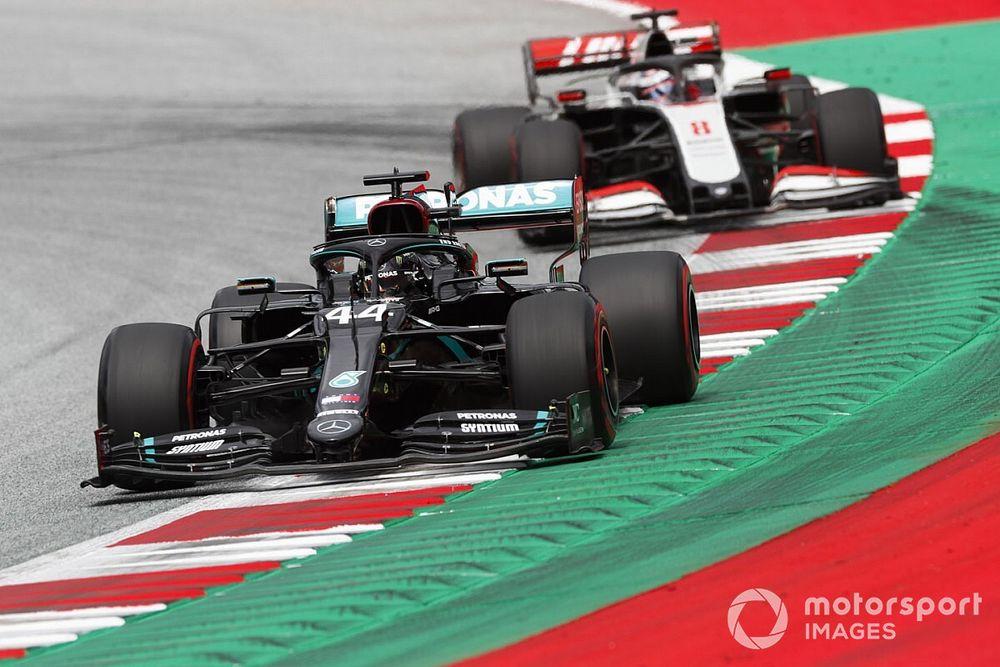 Austrian GP: Hamilton leads Bottas again in FP2