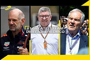 F1 Greatest Team: Ross Brawn è il direttore tecnico