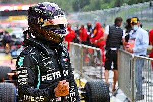 Styrian GP: Hamilton storms to pole in wild, wet qualifying