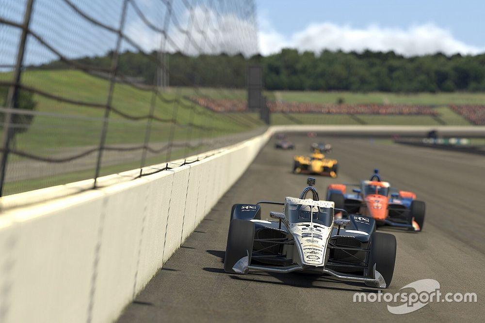 Столкновение напарников принесло Пажено победу в кибергонке IndyCar