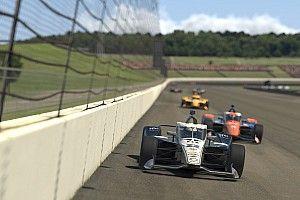 La cuarta carrera de la IndyCar virtual se resuelve con lío
