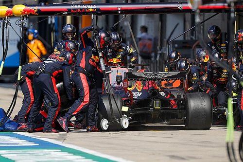 70. Yıl Dönümü GP'de en hızlı pit stop yine Red Bull'dan geldi
