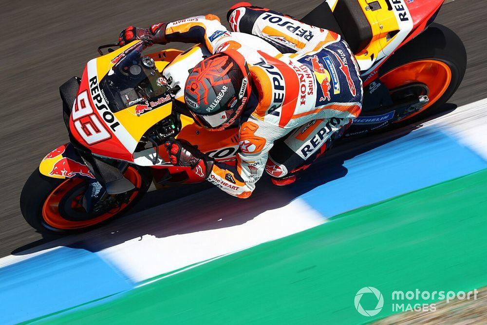 EL1 - Marc Márquez annonce la couleur à Jerez