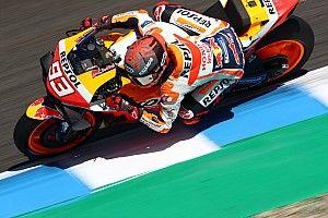 Márquez lidera la FP1 en Jerez