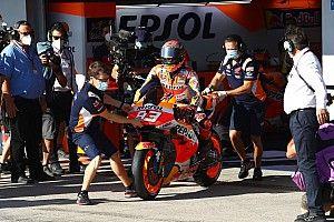 Marquez laat verstek gaan in Grand Prix van Andalusië