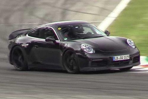 Már a monzai versenypályán is felbukkant a tesztelés alatt álló Porsche 911 GT3 és GT3 Touring