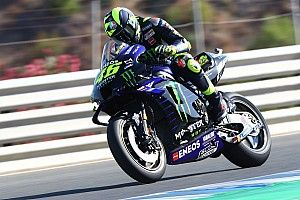 """Rossi """"can't make tyres work properly"""" at Jerez"""
