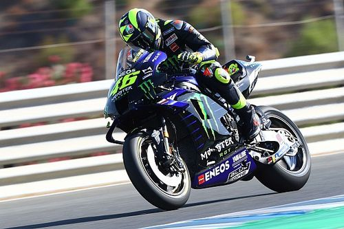 "Rossi ""can't make tyres work properly"" at Jerez"
