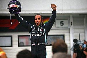 """هاميلتون يقود """"سباقًا وحيدًا"""" ليُحقّق الفوز في المجر للعام الثالث تواليًا"""