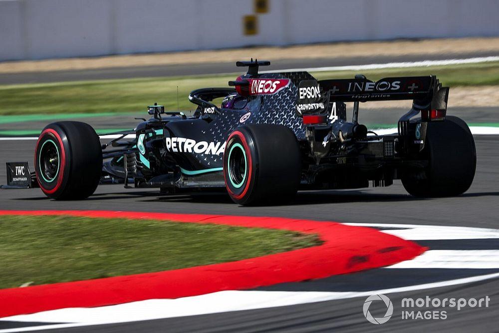 Mercedes установила на болид Хэмилтона новый MGU-K. Если и дальше будут менять так же часто, Льюиса оштрафуют минимум трижды