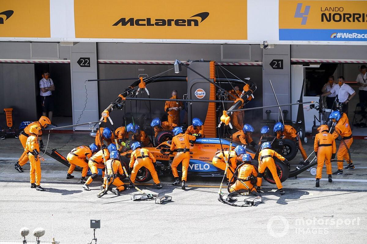 McLaren, pit stoplardaki gelişiminden memnun