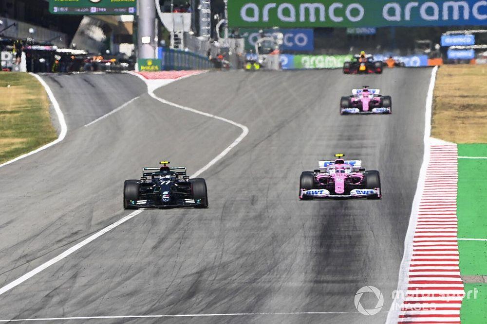 ペレス、復帰戦スペインGPで青旗違反ペナルティ「ちょっと不公平だ」と不満