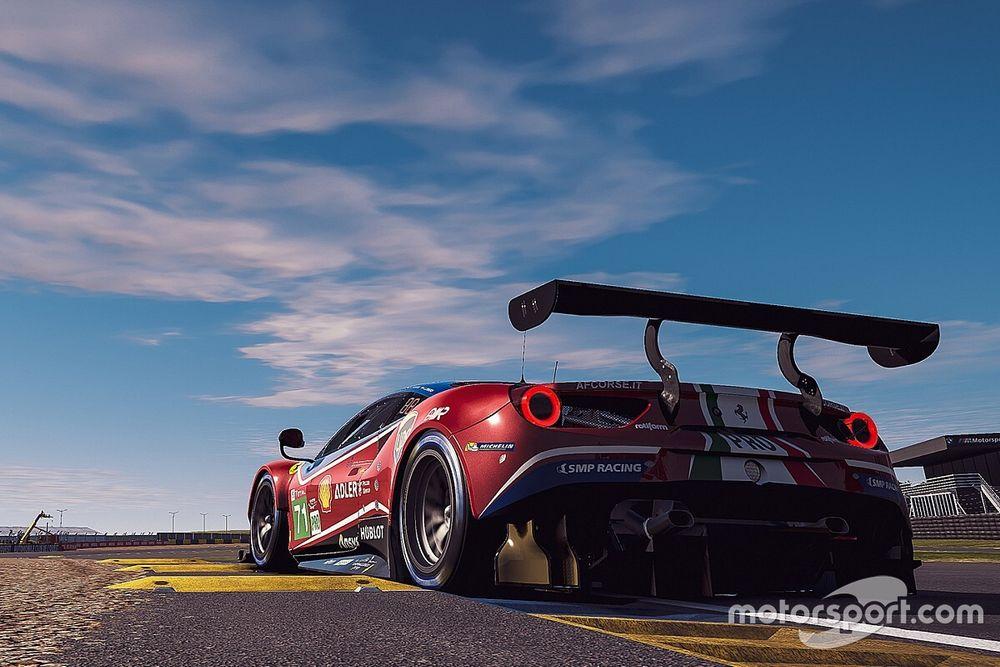 Virtual Le Mans, 17a Ora: Ferrari #71 per la prima volta in Top10