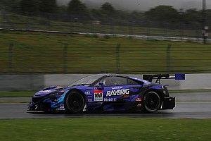 雨でもホンダ勢が最速! 富士テストのセッション3は100号車NSX-GTがトップ