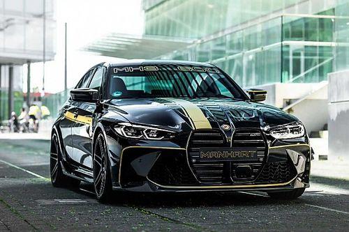 Új színt és 630 lóerőt vitt a BMW M3 Competition életébe a Manhart