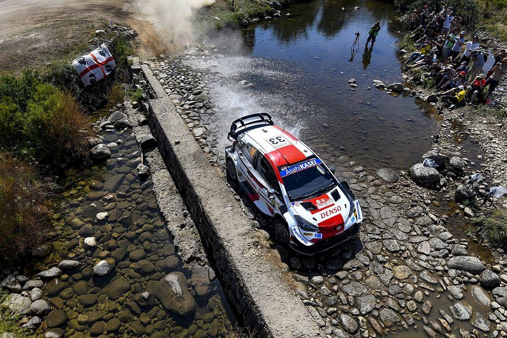 WRC, Rally Italia, PS17: le Toyota ripartono forte