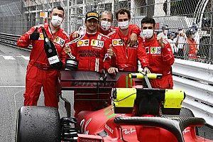 Sainz zaskoczył Rosberga