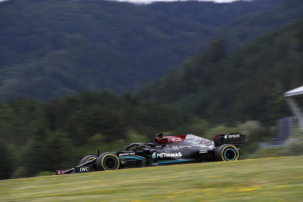 Why Mercedes isn't fooled it's ahead of Red Bull after F1 practice
