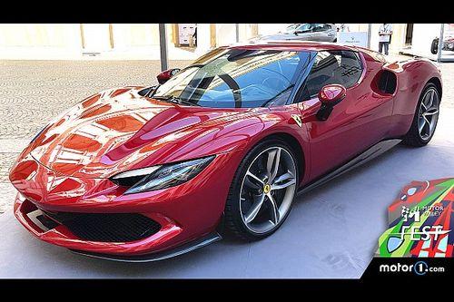 La prima Ferrari ibrida V6 debutta al Motor Valley Fest