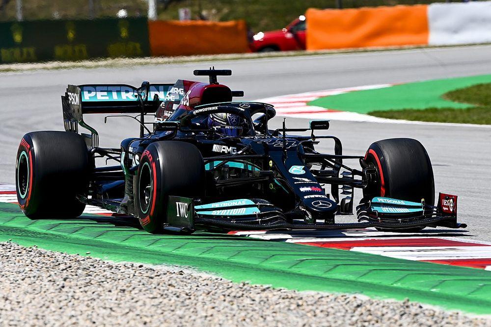 Grand Prix qualifying results: Hamilton takes pole in Barcelona
