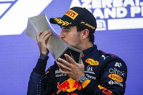 GALERÍA: fotos del triunfo de Sergio Pérez en el GP de Azerbaiyán F1