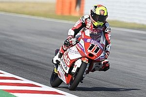 Catalunya Moto3: Garcia wins as race ends under red flag
