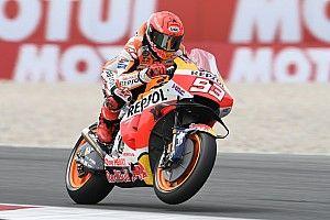 Pijnlijke crash speelt Marquez parten in kwalificatie op Assen