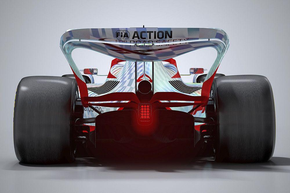 Fotos: así luce el primer prototipo de la Fórmula 1 2022