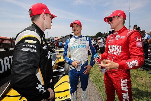"""Newgarden: Palou is """"most complete"""" of IndyCar's new stars"""