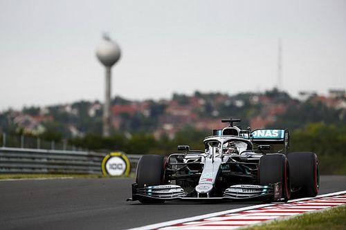 Hamilton voor Verstappen in eerste training Hongaarse Grand Prix