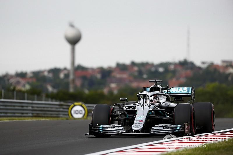 EL1 - Hamilton passe entre les gouttes, Bottas perd du temps