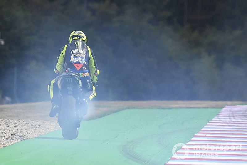 Rossi alatt megadta magát a Yamaha