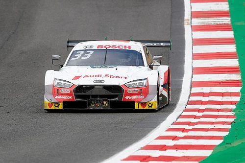 DTM Brands Hatch: Rast doet goede zaken met zege, podium Frijns