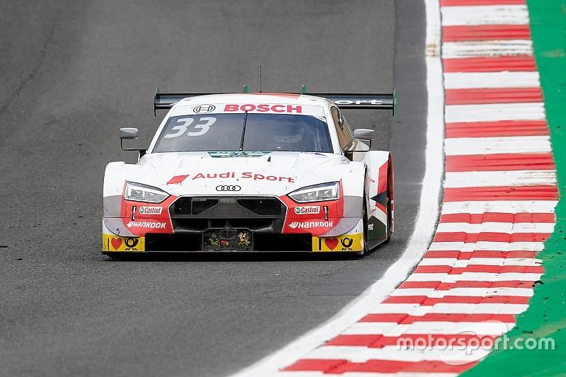 Rast y los Audi machacan a Wittmann y los BMW en Brands Hatch