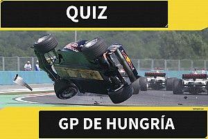 El quiz del GP de Hungría de F1