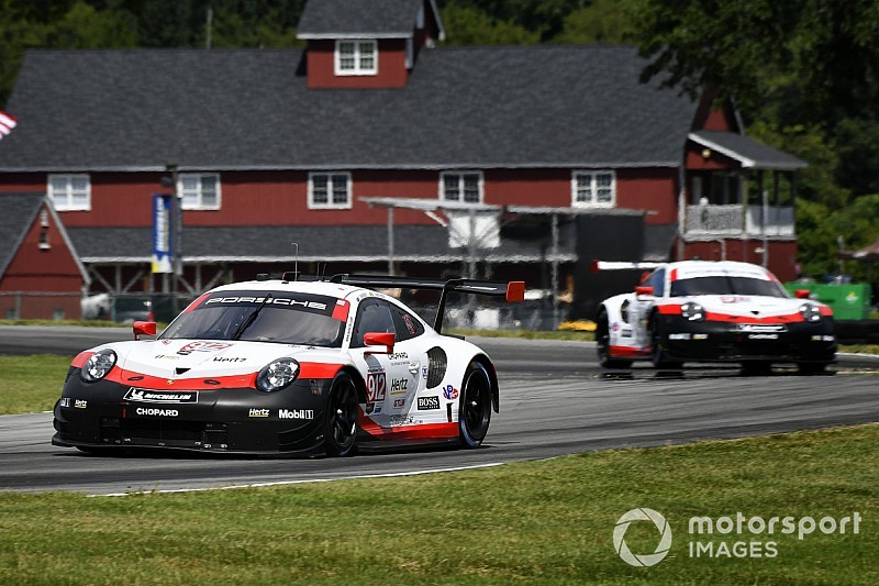 VIR IMSA: Vanthoor beats Tandy in all-Porsche FP3 duel