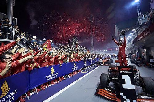 Ferrari: Deixar Vettel vencer em Singapura ajudou na confiança do alemão